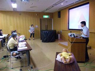 (社)長野県助産師会 保健指導部会学習会「乳児の発達とポジショニング」