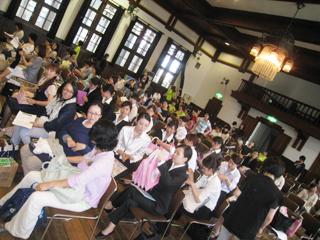 (社)長野県助産師会 国際助産師の日2014